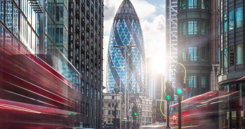 St Mary Axe view